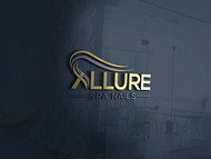 Allure Spa Nails Logo - Entry #89