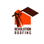 Revolution Roofing Logo - Entry #95