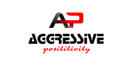 Aggressive Positivity  Logo - Entry #15