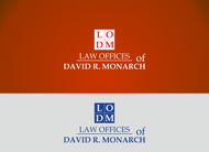 Law Offices of David R. Monarch Logo - Entry #150