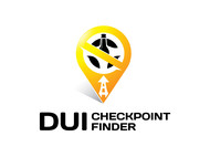 DUI Checkpoint Finder Logo - Entry #24