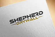 Shepherd Drywall Logo - Entry #96
