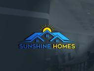 Sunshine Homes Logo - Entry #590