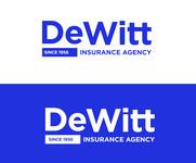 """""""DeWitt Insurance Agency"""" or just """"DeWitt"""" Logo - Entry #266"""