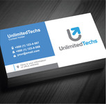 Unlimited Techs Logo - Entry #34