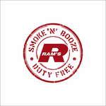 Rams Duty Free + Smoke & Booze Logo - Entry #319