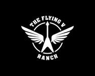 The Flying V Ranch Logo - Entry #68