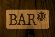Bar 33 Logo - Entry #13