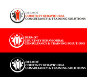 Dermot Courtney Behavioural Consultancy & Training Solutions Logo - Entry #68