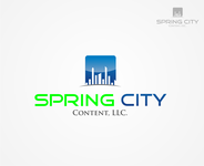 Spring City Content, LLC. Logo - Entry #8