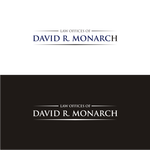 Law Offices of David R. Monarch Logo - Entry #83