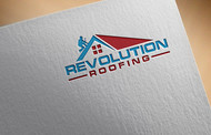 Revolution Roofing Logo - Entry #80
