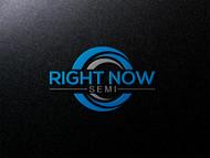 Right Now Semi Logo - Entry #205