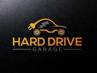 Hard drive garage Logo - Entry #119