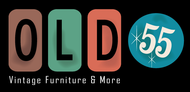 """""""OLD 55"""" - mid-century vintage furniture and wares store Logo - Entry #204"""