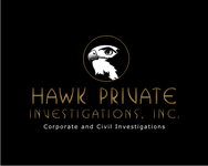 Hawk Private Investigations, Inc. Logo - Entry #89