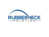 Rubberneck Printing Logo - Entry #28