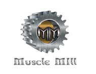 Muscle MIll Logo - Entry #117