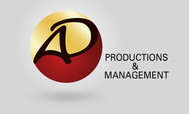 Corporate Logo Design 'AD Productions & Management' - Entry #51