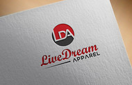 LiveDream Apparel Logo - Entry #178