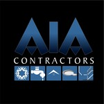 AIA CONTRACTORS Logo - Entry #148