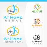 At Home Rehab Logo - Entry #1