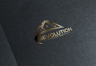 Revolution Roofing Logo - Entry #74