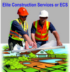 Elite Construction Services or ECS Logo - Entry #261