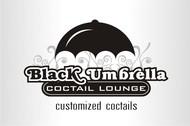 Black umbrella coffee & cocktail lounge Logo - Entry #178