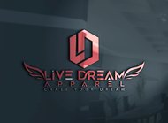 LiveDream Apparel Logo - Entry #381