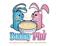 Bunny Pho Logo - Entry #60