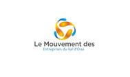 Le Mouvement des Entreprises du Val d'Oise Logo - Entry #49