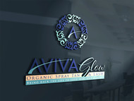 AVIVA Glow - Organic Spray Tan & Lash Logo - Entry #81