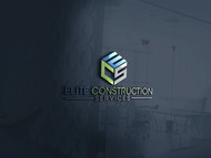 Elite Construction Services or ECS Logo - Entry #323