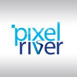 Pixel River Logo - Online Marketing Agency - Entry #39