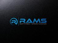 Rams Duty Free + Smoke & Booze Logo - Entry #197