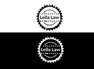 Leila Law Logo - Entry #6