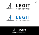 Legit Accessories Logo - Entry #108