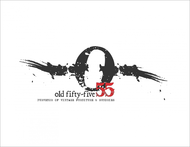 """""""OLD 55"""" - mid-century vintage furniture and wares store Logo - Entry #170"""