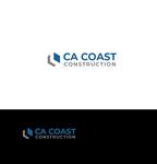 CA Coast Construction Logo - Entry #243