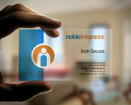 Noble Insurance  Logo - Entry #149