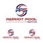Patriot Pool Service Logo - Entry #249