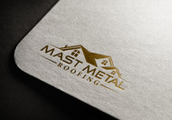 Mast Metal Roofing Logo - Entry #163