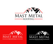 Mast Metal Roofing Logo - Entry #218