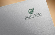 Green Wave Wealth Management Logo - Entry #342