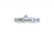 STREAMLINE building & carpentry Logo - Entry #158
