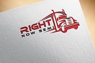 Right Now Semi Logo - Entry #187