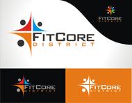 FitCore District Logo - Entry #152