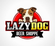 Lazy Dog Beer Shoppe Logo - Entry #1