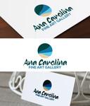 Ana Carolina Fine Art Gallery Logo - Entry #3